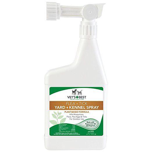 Vet S Best Natural Flea And Tick Yard Kennel Spray 32 Oz Usa