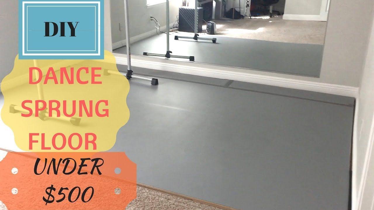 Diy Dance Sprung Floor Over Carpet Use It For Dance Ballet Yoga Gym Home Dance Portable Dance Floor Diy Home Dance Studio