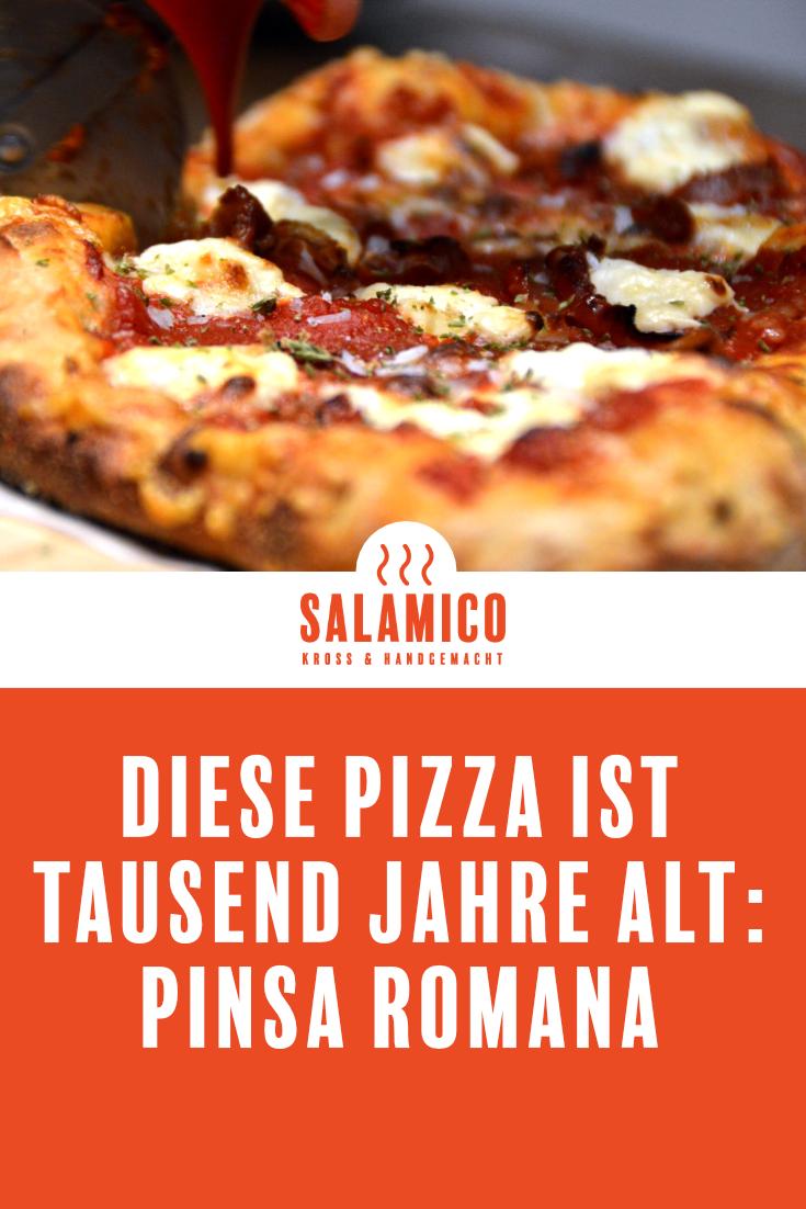 DIESE PIZZA IST TAUSEND JAHRE ALT: PINSA ROMANA