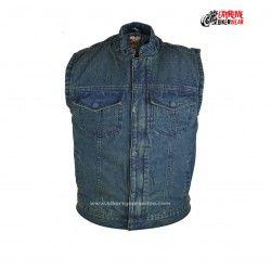 MILWAUKEE PERFORMANCE Mens 10 Pocket Denim Lace Vest