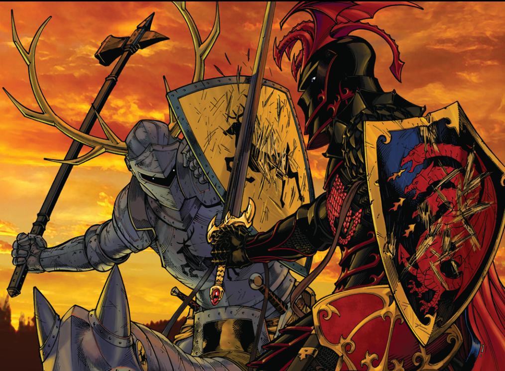 Thought You Guys Might Like This For A Wallpaper Robert Baratheon Vs Rhaegar Targaryen On The Trident Targaryen Art Baratheon A Dance With Dragons