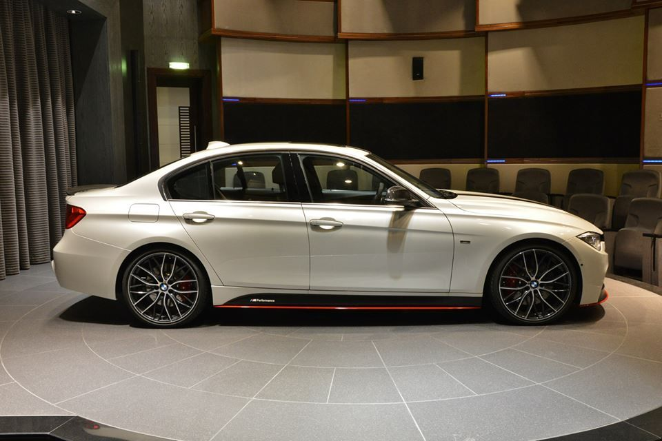 mw abu dhabi dealerships shows a bmw f30 3 series with bmw mmw abu dhabi dealerships shows a bmw f30 3 series with bmw m performance parts and a tuning chip the look of this f30 335i is quite unique from all the m