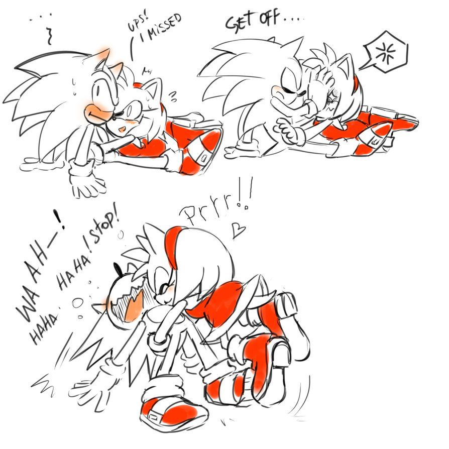 Pin By Kakouribe On Sonamy Sonic And Amy Sonic And Shadow Sonic Underground