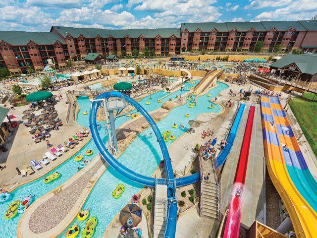 Wyndham Glacier Canyon Rentals Wisconsin Dells Hotels