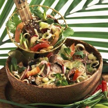 Salade de boeuf à la thaïlandaise - Cuisine - Plurielles ...