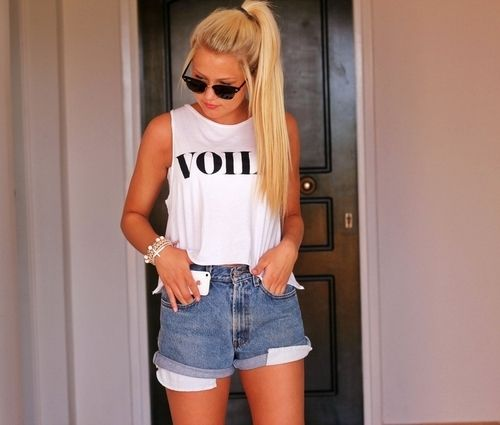 Levis shorts.