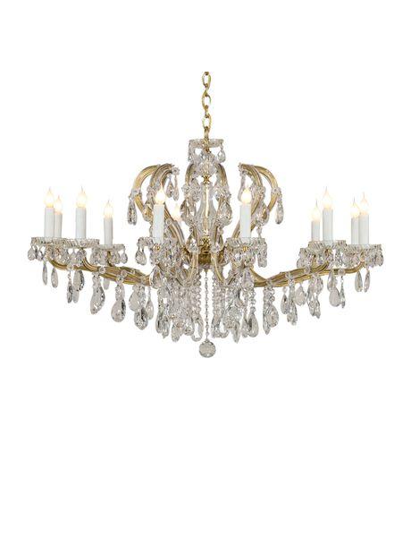 Maria theresa vintage austrian crystal chandelier circa 1940 maria theresa vintage austrian crystal chandelier circa 1940 aloadofball Image collections
