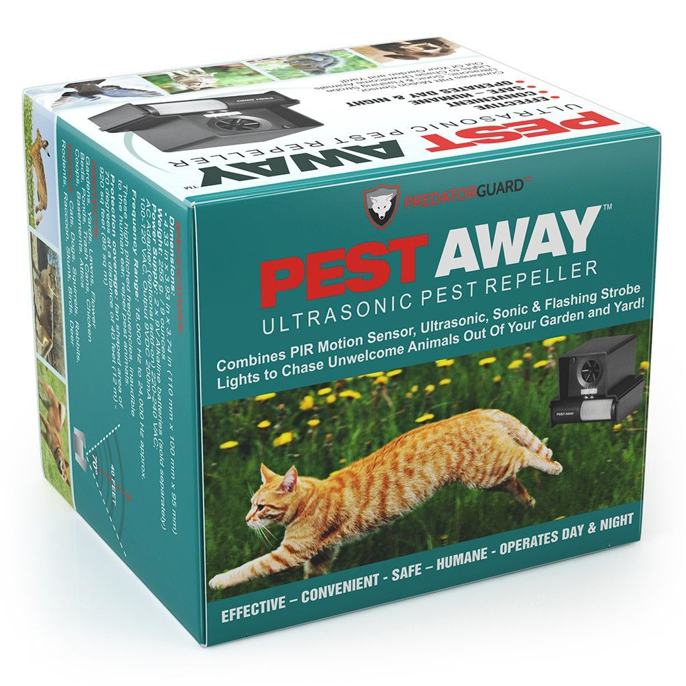 Say Goodbye to Cats and Other Garden Pests With Advanced