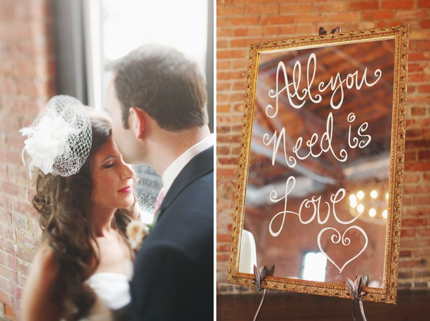 35 reception wedding ohio Meggan + Mike | High Line Car House Whimsy Weddings and Events Flowers and Decor