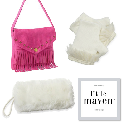 Adorable accessories! Little Maven by Tori Spelling