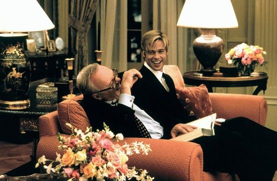 Meet Joe Black Living Room Love It Two Stunning Examples Of Fabulous Men Great Actors
