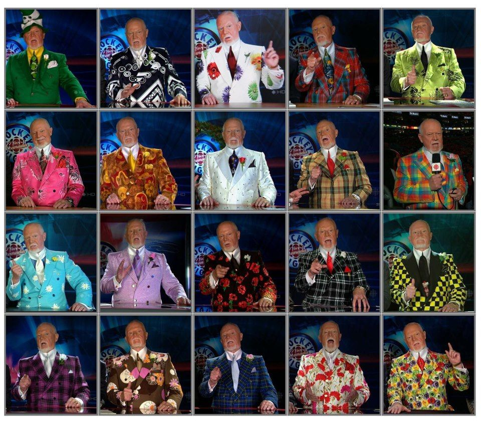 Don Cherry Announcer Cbc Hockey Night In Canada Don Cherry Hockey Hockey Mom