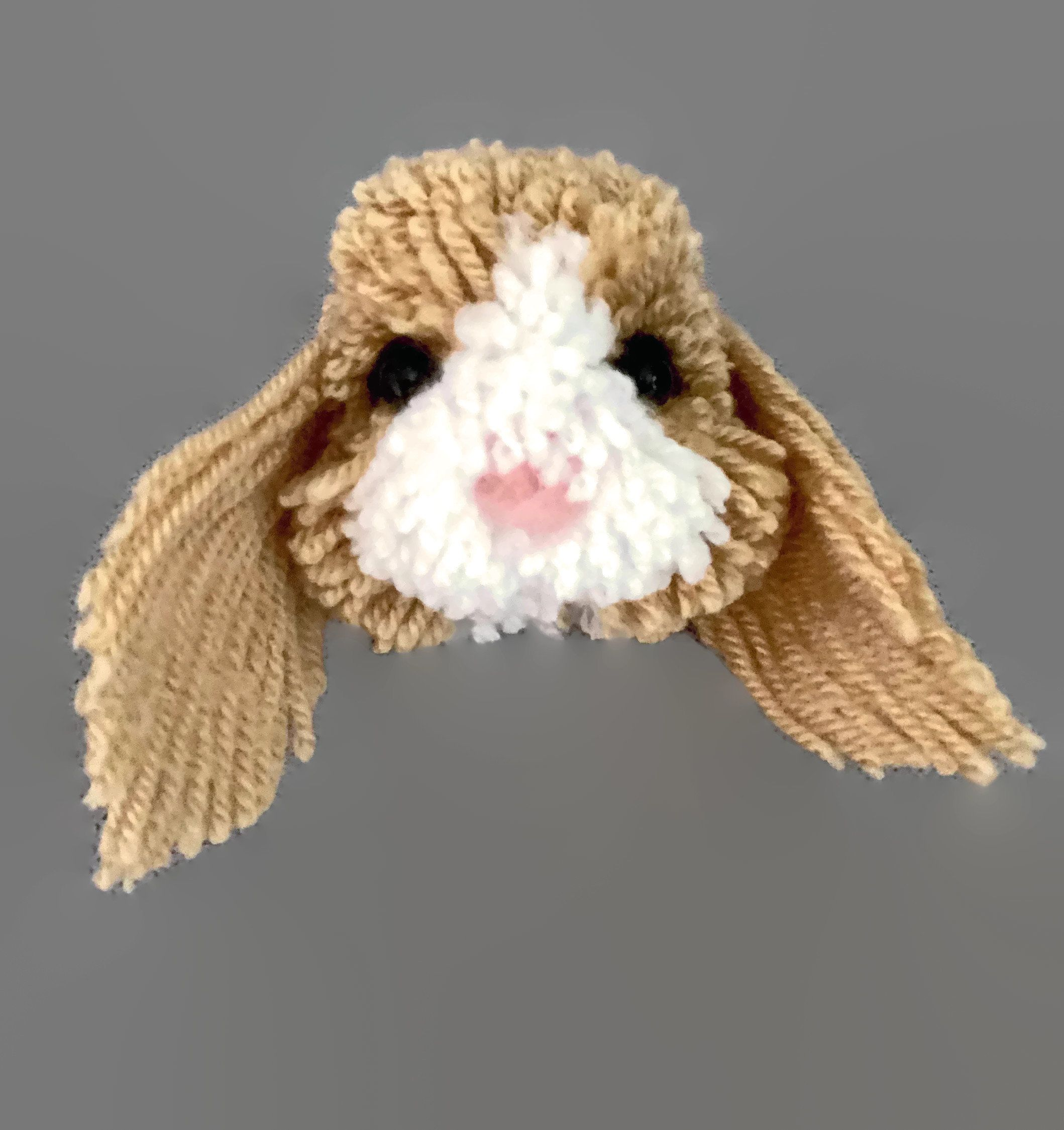Bunny Rabbit Pom Pom Pet Collectable Ornament With Gift Box