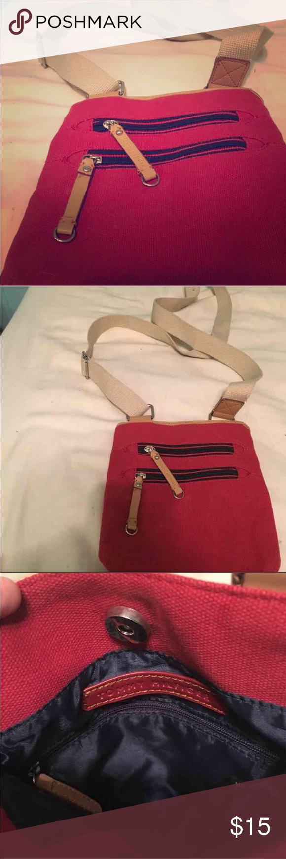 Tommy Hilfiger cross body bag Very great condition never used Tommy Hilfiger Bags Crossbody Bags