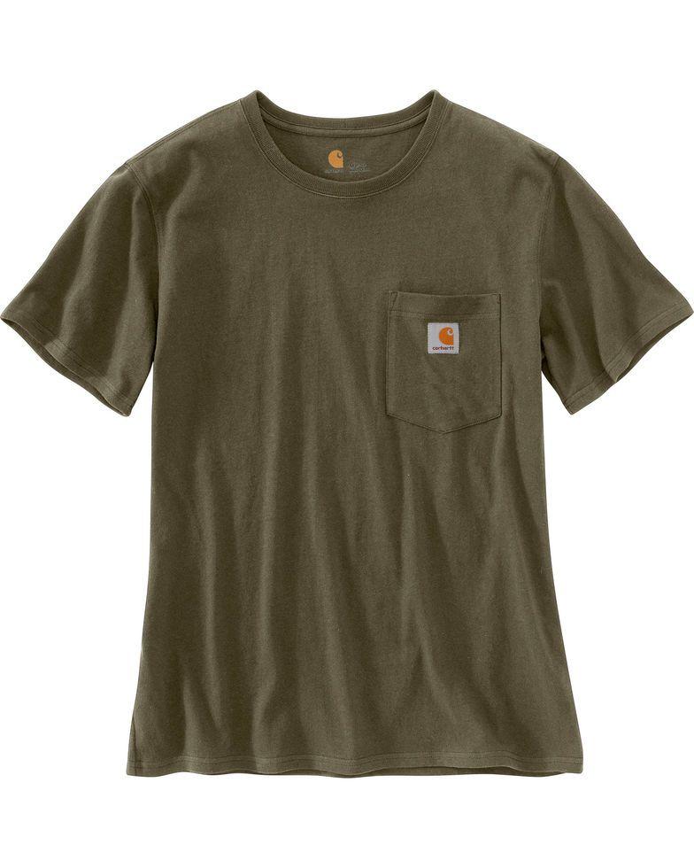 e08e45c0 Carhartt Women's Workwear Pocket T-Shirt in 2019 | Gifts | Shirts ...