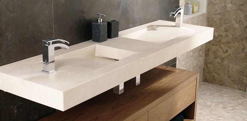 Naturstein waschtisch duschamaturen pinterest for Designer waschtische badezimmer