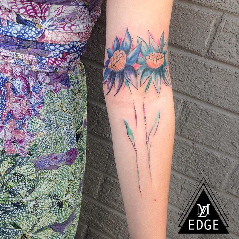 Floral Tattoo Jennifer Edge Main Line Ink
