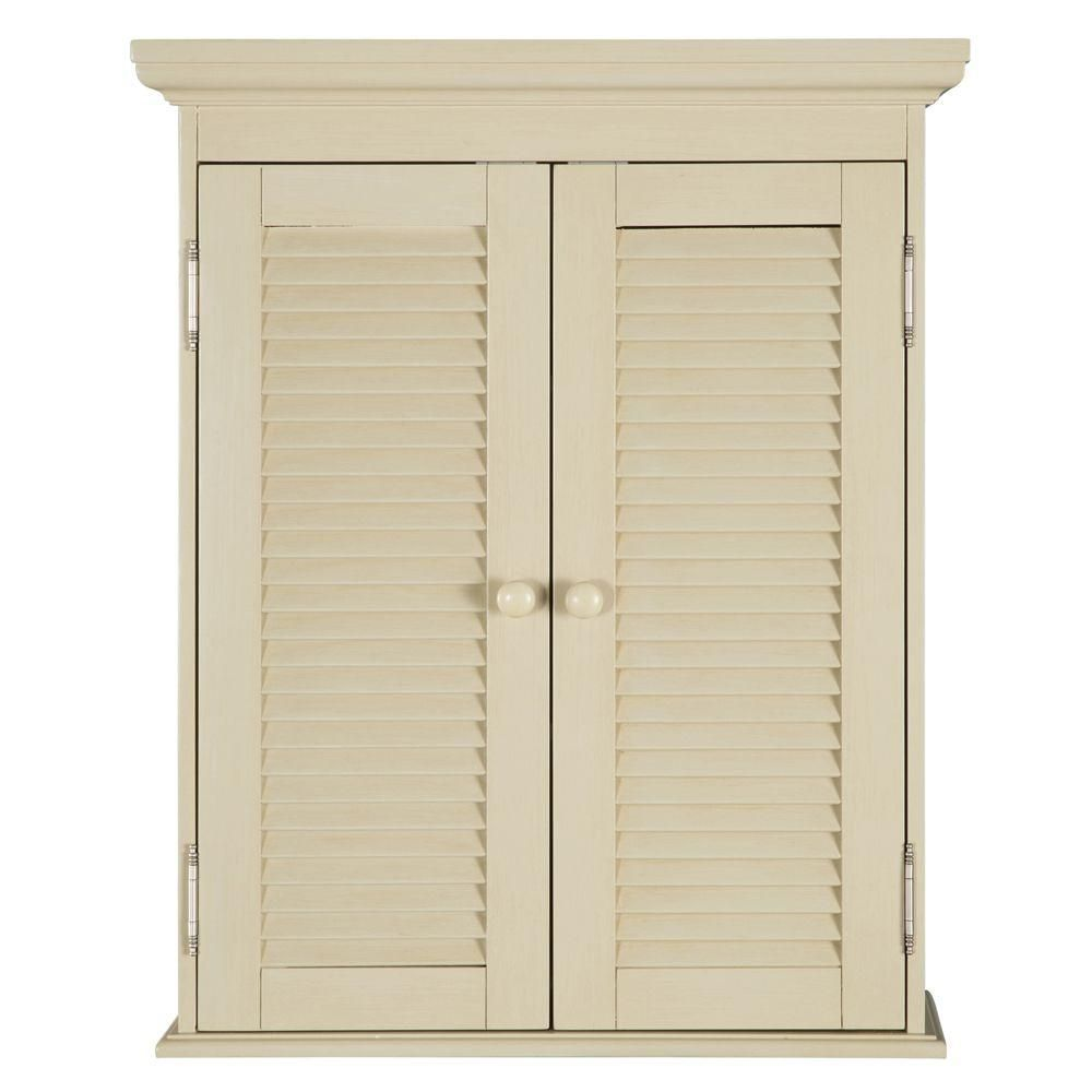Home Decorators Collection Cottage 23-3/4 in. W x 29 in. H x 8 in. D ...