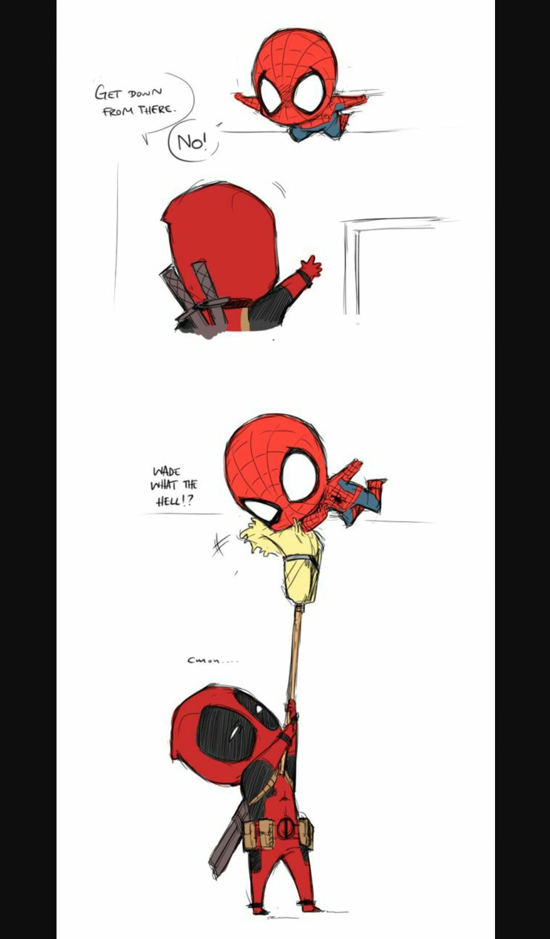 Wattpad Fanfiction This Is Spiderman X Deadpool Its Oneshots That Can Be Requested Ill Have A Few Of My Own Ideas But I Will Totally Take Requests