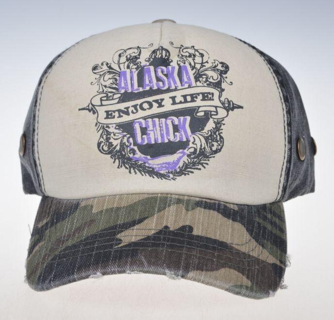 Alaska Chicks Co - Alaska Chicks Enjoy Life Trucker Hat - More Color Options , $20.00 (http://www.alaskachicks.com/alaska-chicks-enjoy-life-trucker-hat-more-color-options/)