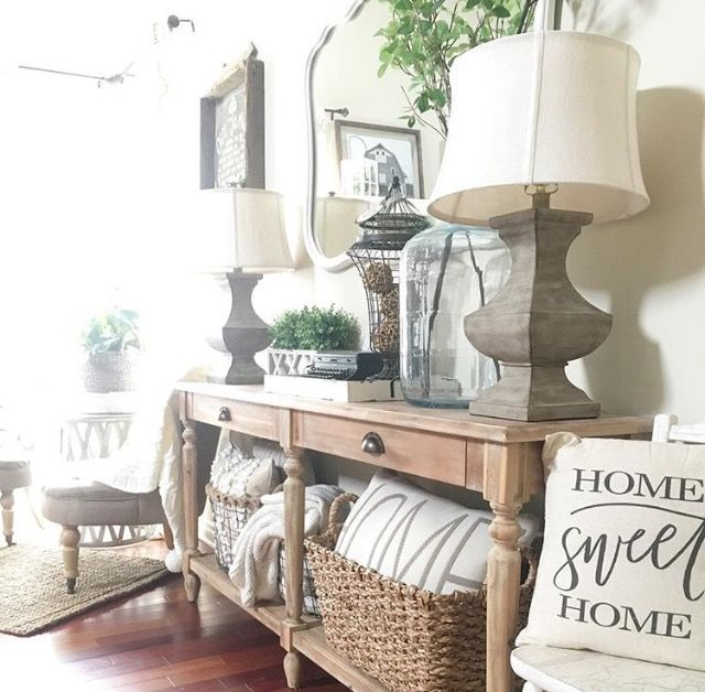 First Impressions 10 Ideas For Entrance Hallway Decor: Vintage French Soul ~