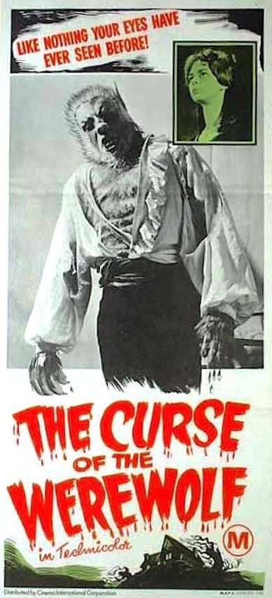 The Curse of the Werewolf.