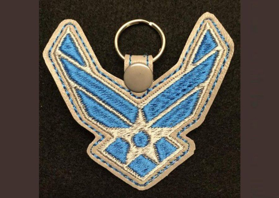 Military Key Fob Machine Embroidery Designs Machine Embroidery