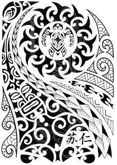 Polynesian Half Sleeve 04 By Dfmurciadeviantartcom On At Deviantart