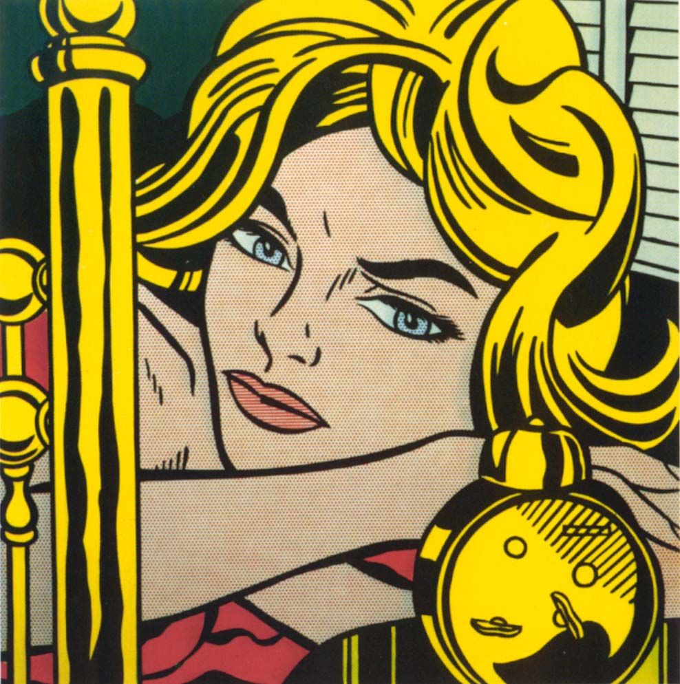 Pop Art Arte De Cómic Popular Roy Lichtenstein Pop Art Producción Artística