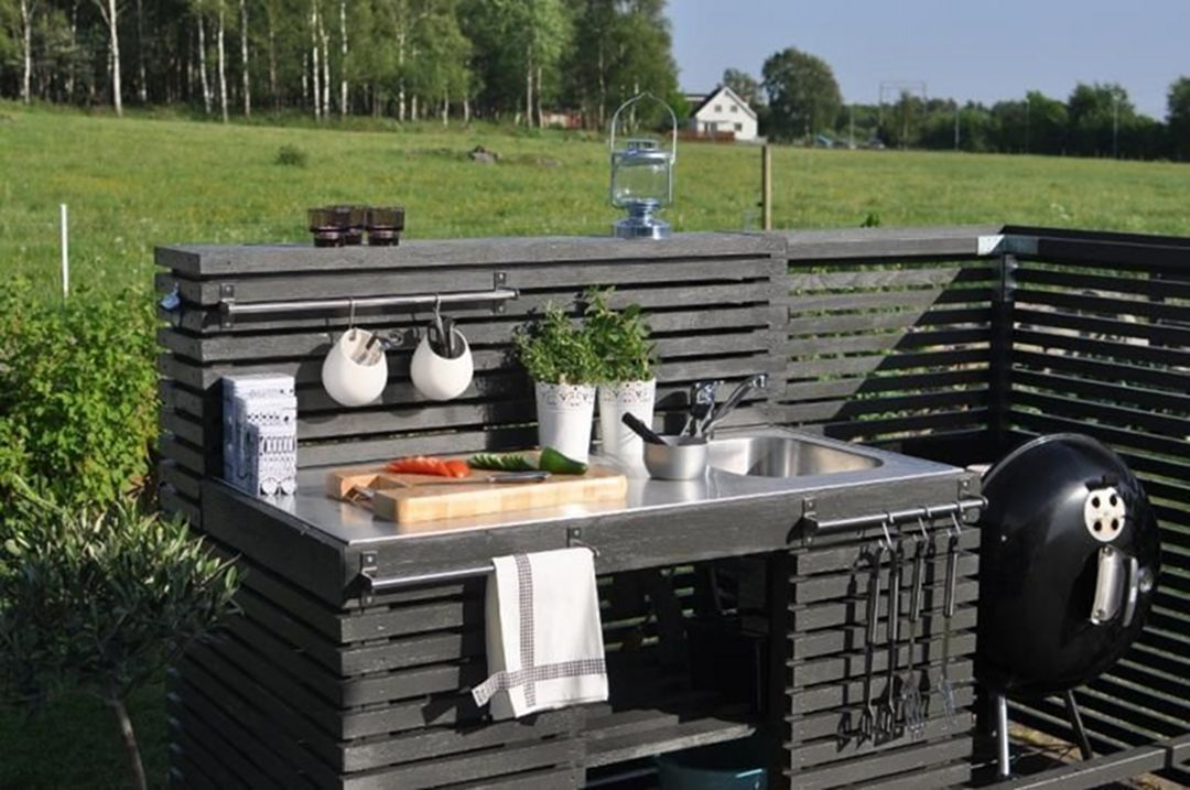 47 Gorgeous Diy Outdoor Kitchen Designs On A Budget With Images Outdoor Kitchen Decor Outdoor Kitchen Sink Diy Outdoor Kitchen