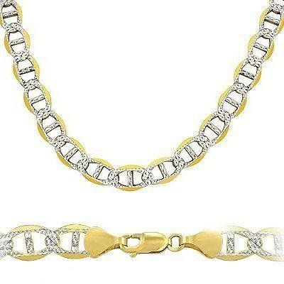 Solid 14k Yellow White Two Tone Gold Gucci Bracelet 8.9mm 8.5 Sonia Jewels. $1231.00. Save 39%!