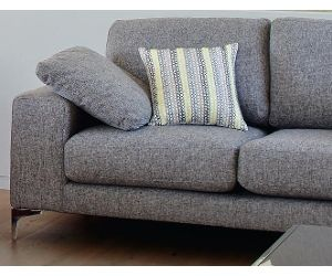 Vue Essentials Abbey Sofa 2 Seater In Grey Fabric From Myers