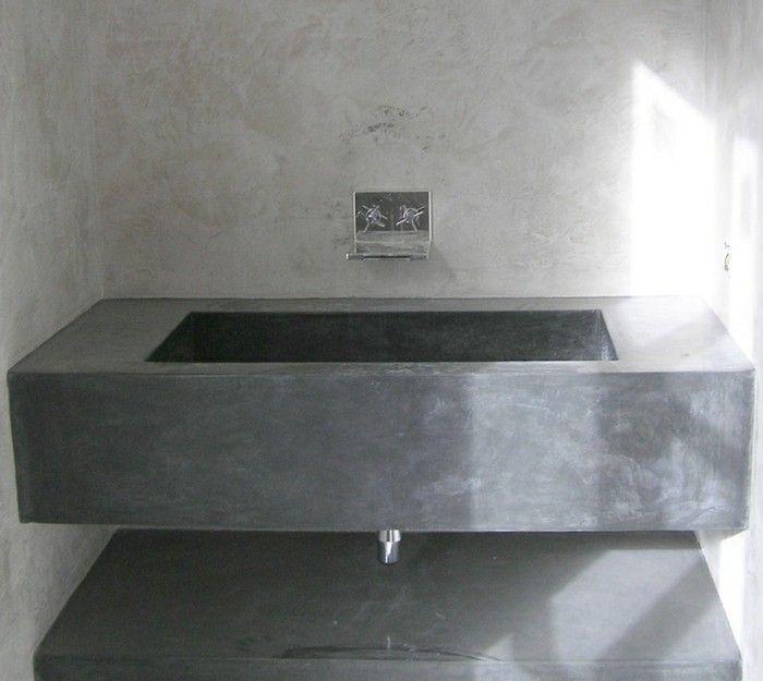 ▷ 1001+ Ideen für Badezimmer ohne Fliesen - ganz kreativ Wash - badezimmerwände ohne fliesen