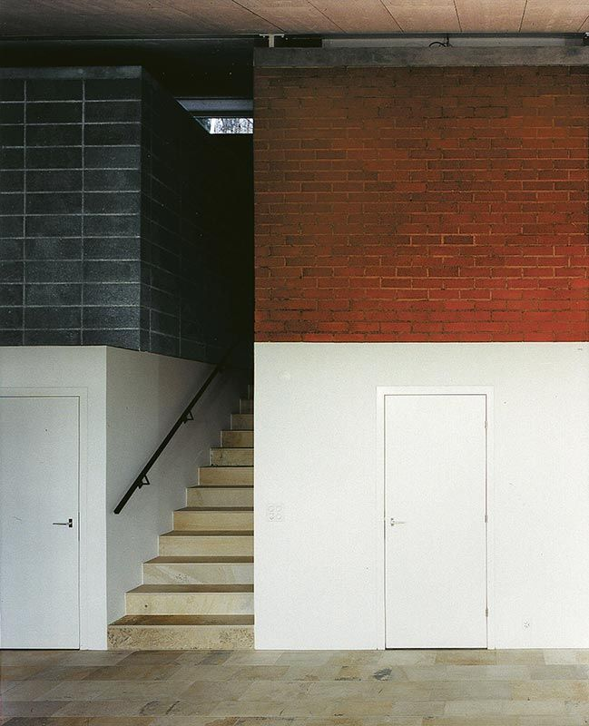 Beat Rothen Unot St. House, Uhwiesen 1997. Photo