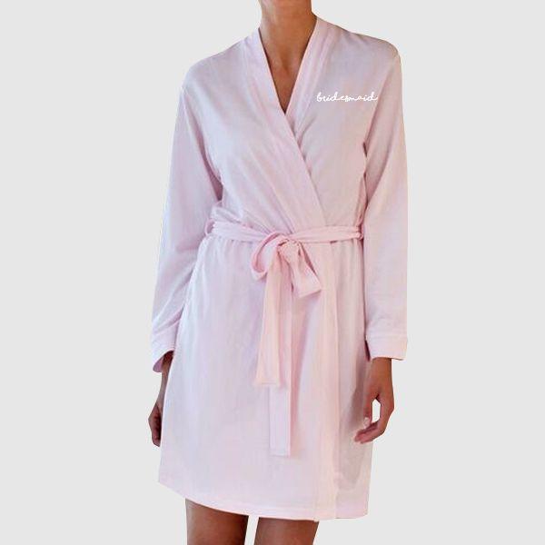 Bridesmaid Women\'s Kimono Robe Dressing Gown   #Quote #Slogan ...