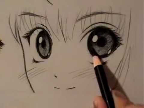 How to Draw Manga Eyes, Four Different Ways (pt.1) - mark crilley x