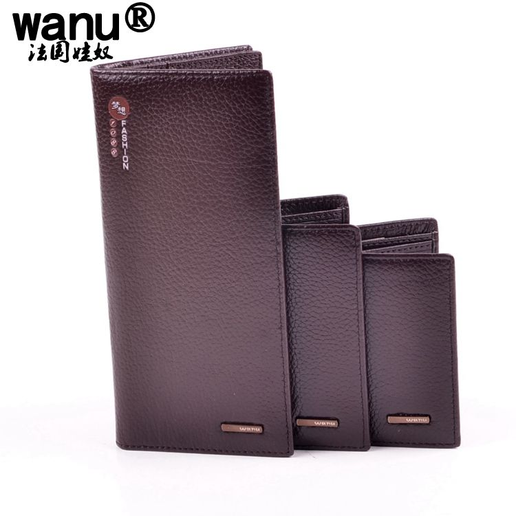 093902f8923cd Fashion New Genuine Leather Men s Wallet