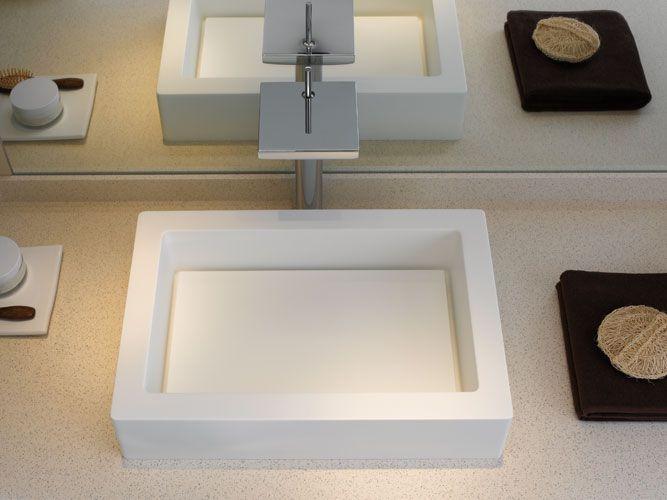 Aufsatz-/Einbauwaschtische-Waschtische von Keramag aus Varicor® E Classic – grafisch exakte Lösungen
