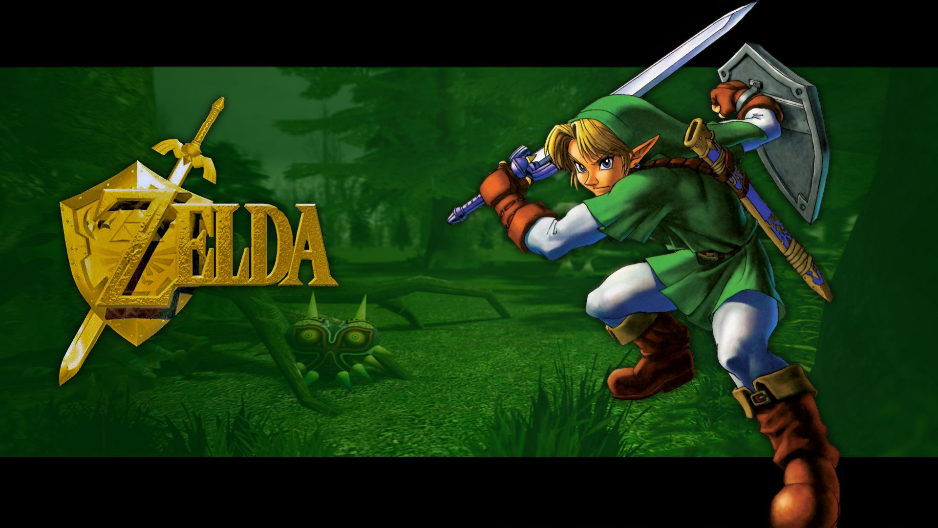 The Legend of Zelda Ocarina of Time [ wallpaper Game HD