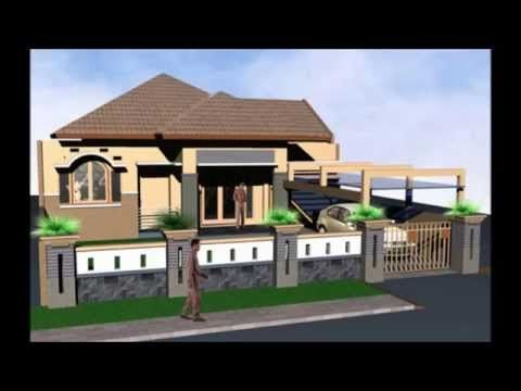 ide desain pagar rumah terbaik desain rumah minimalis
