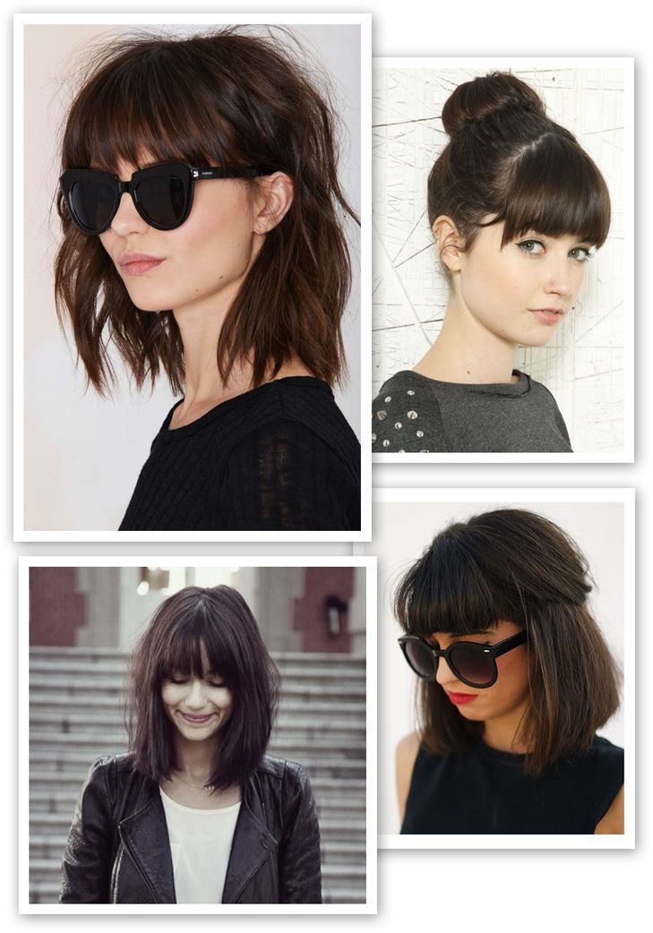 Inspired By Hair Inspiration Pinterest Hair Bangs And Half
