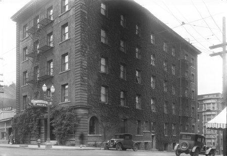 Vintage Portland Architecture Old