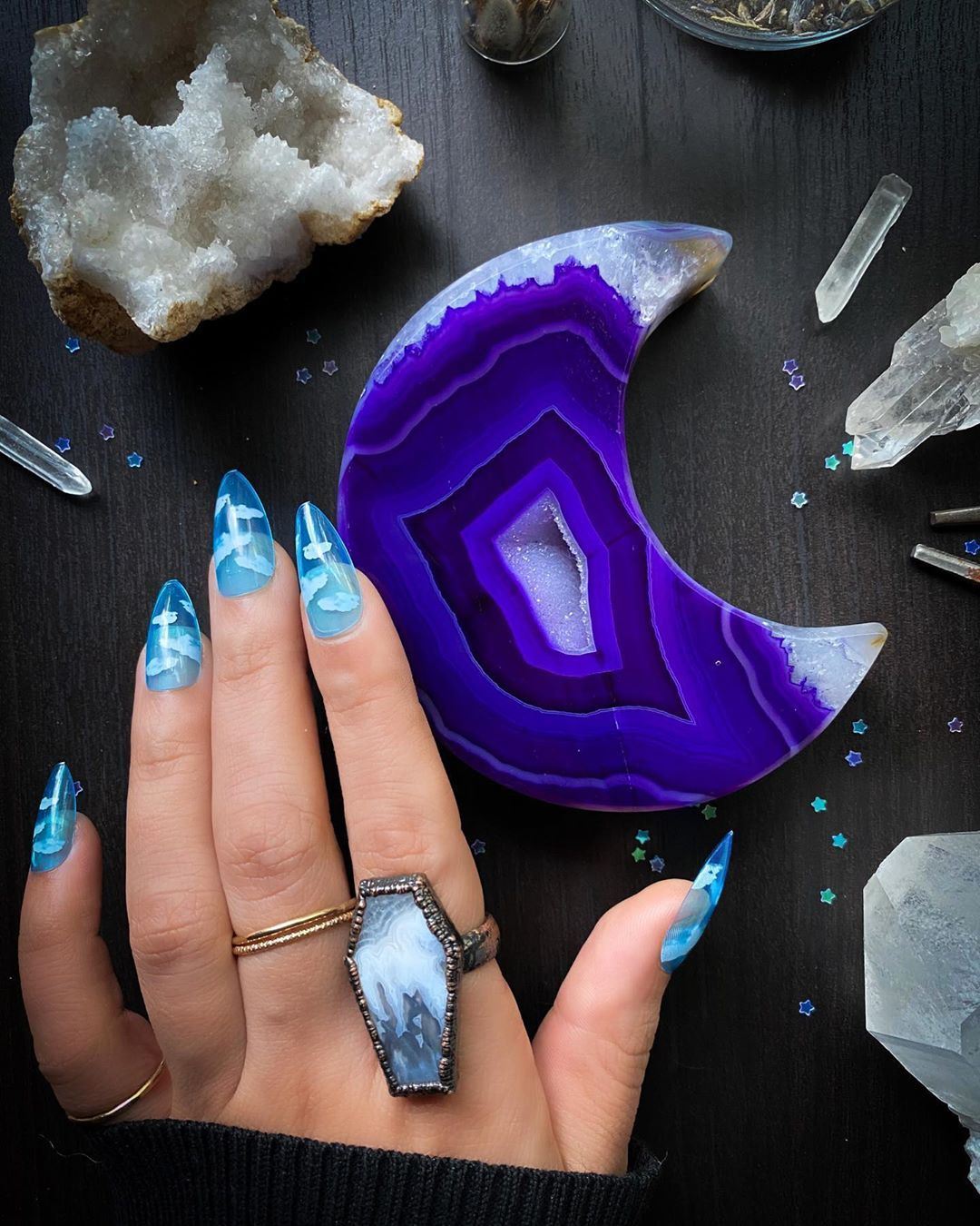 cloud jelly nails in 2020 jelly nails swag nails nails cloud jelly nails in 2020 jelly nails