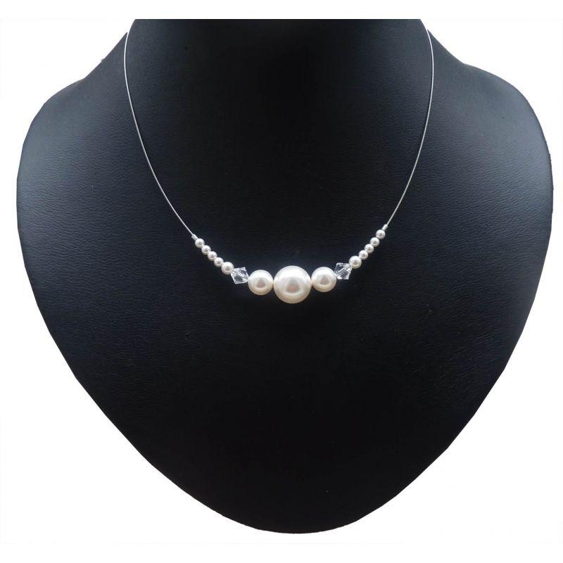 Perlenschmuck  Perlenschmuck Hochzeit mit grossen Perlen | Bridal necklace ...