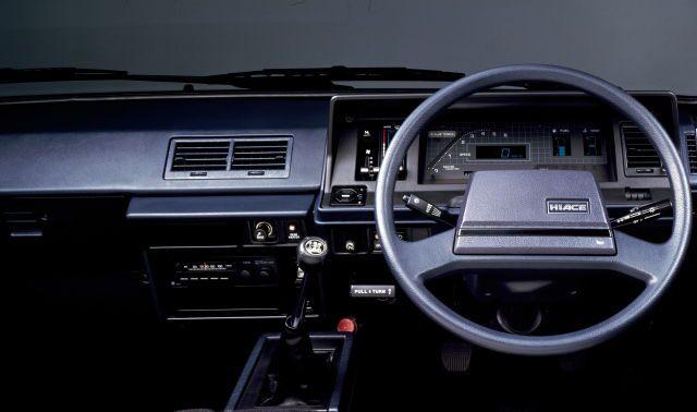 1985 Toyota Hiace Car Interior Toyota Hiace Car