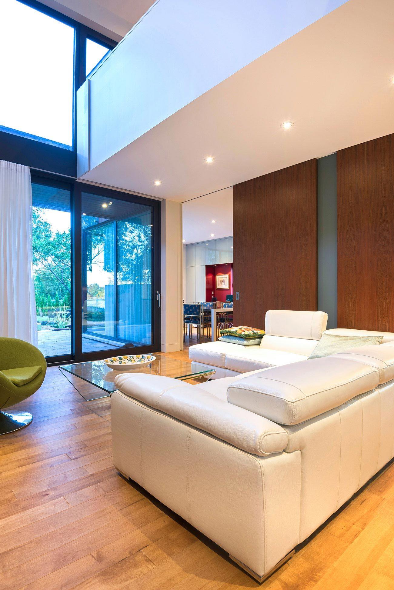 Ch Teaubriand House By Anik Peloquin Architecte