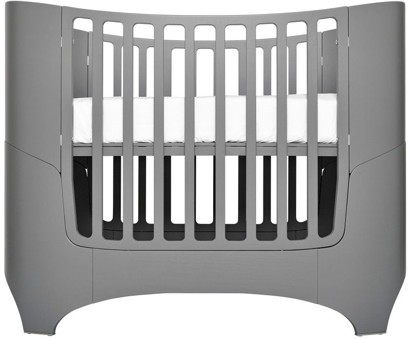 Awesome Tulip Leander Crib And Conversion Kit In Stunning Grey Awesome Ideas
