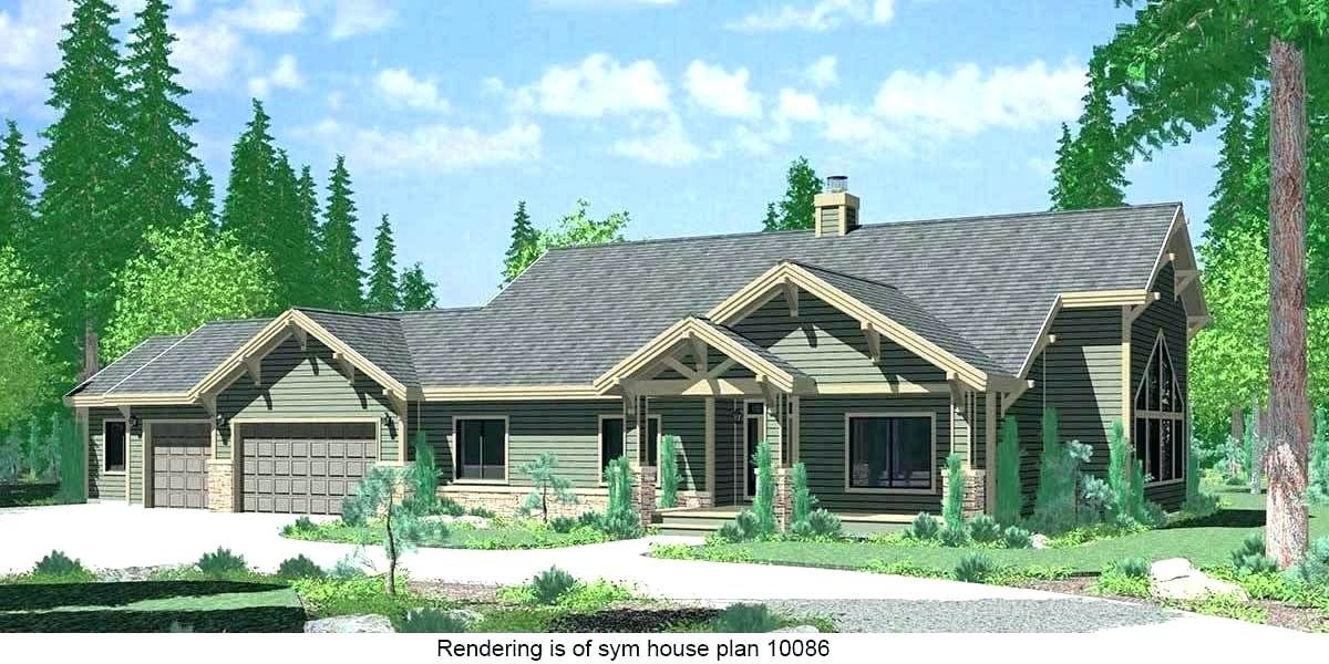 Cross Gable Roof Revit House