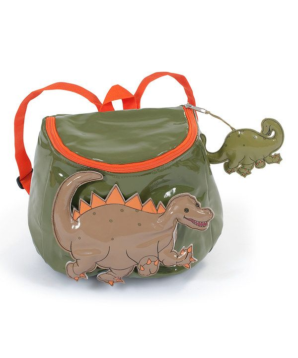 Look at this Kidorable Green Dinosaur Backpack on  zulily today ... 4078ac97c9b5b