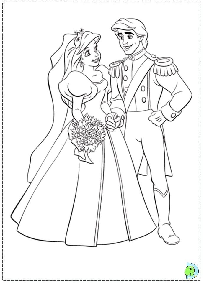 Love The Lower Back Lace Detail On This Gown Ariel Coloring Pages Mermaid Coloring Disney Princess Coloring Pages
